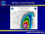 48 hour future rainfall