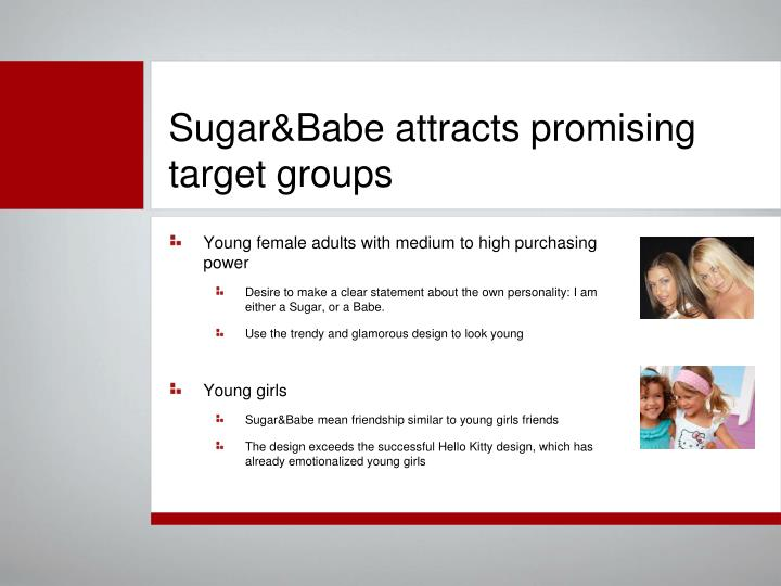 Sugar&Babe attracts promising target groups
