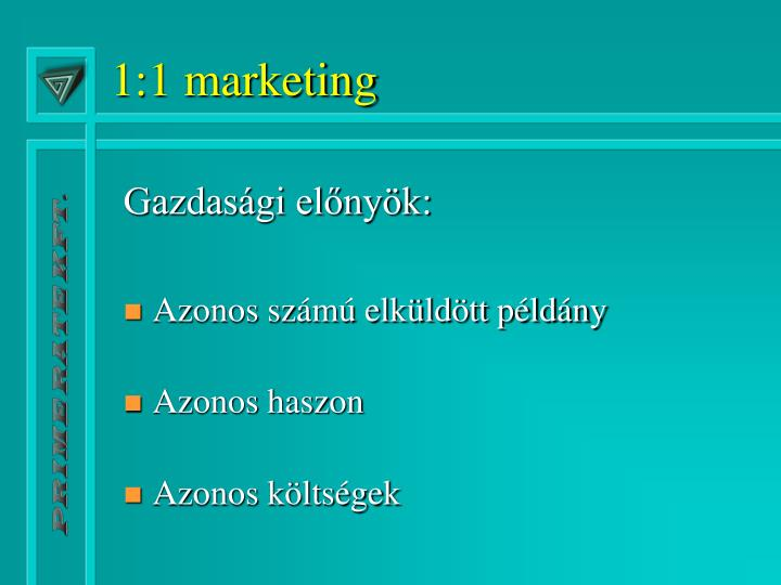 1:1 marketing