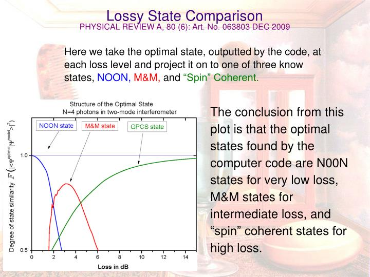 Lossy State Comparison