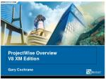projectwise overview v8 xm edition