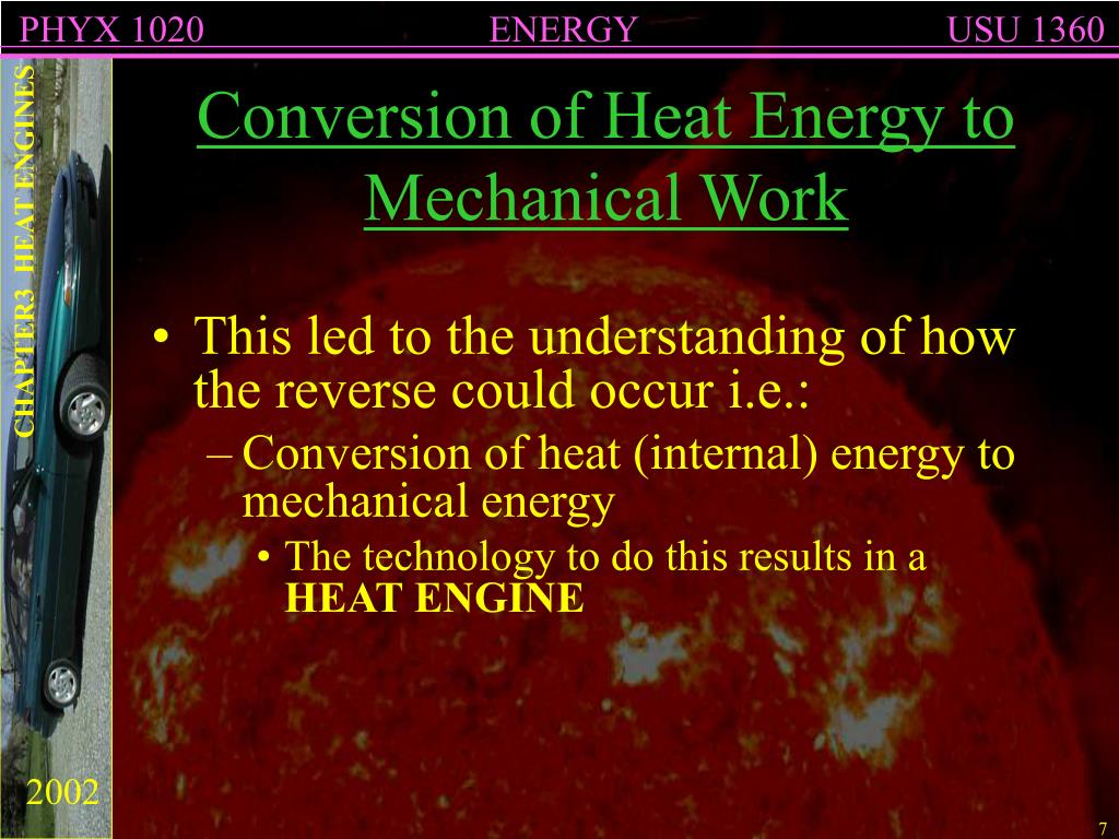 PPT - CHAPTER 3 HEAT ENGINES PowerPoint Presentation - ID:6948148