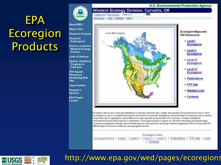 EPA Ecoregion