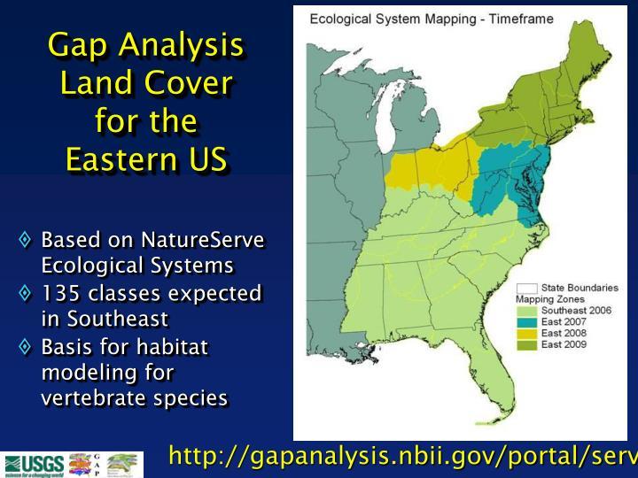 Gap Analysis Land Cover
