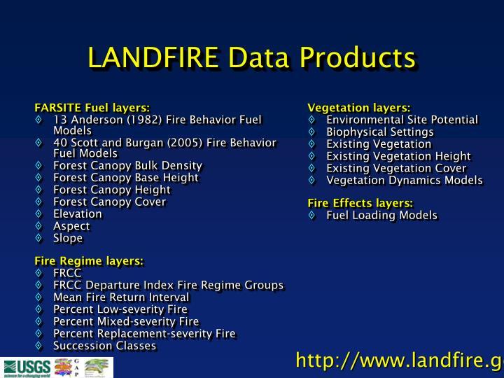 FARSITE Fuel layers: