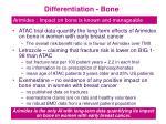 differentiation bone