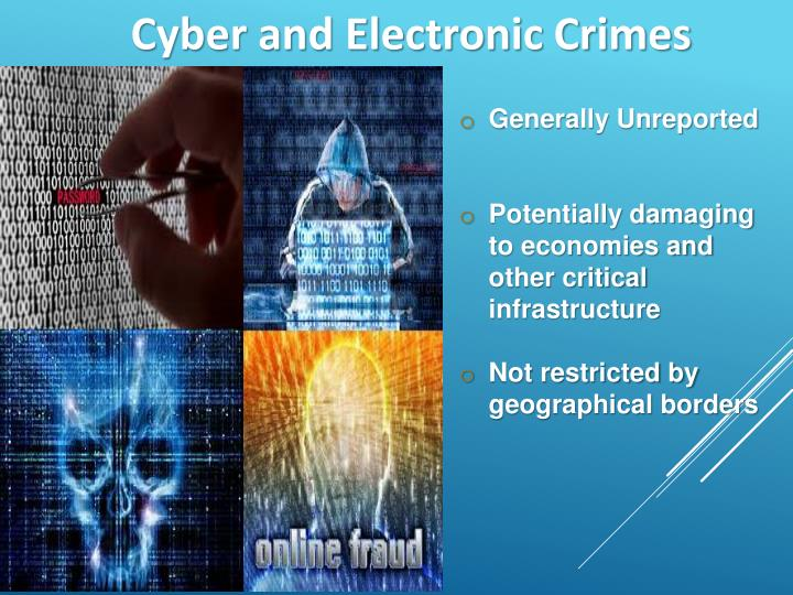 Cyber and Electronic Crimes