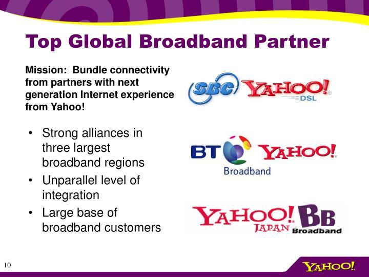 Top Global Broadband Partner