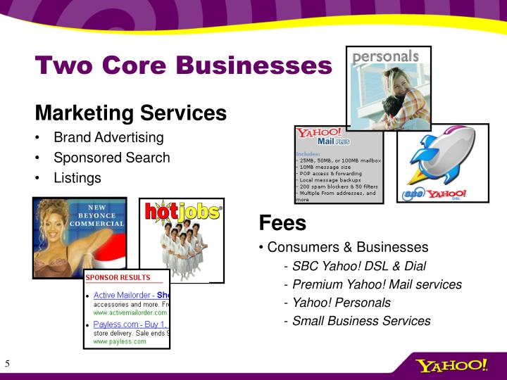 Two Core Businesses