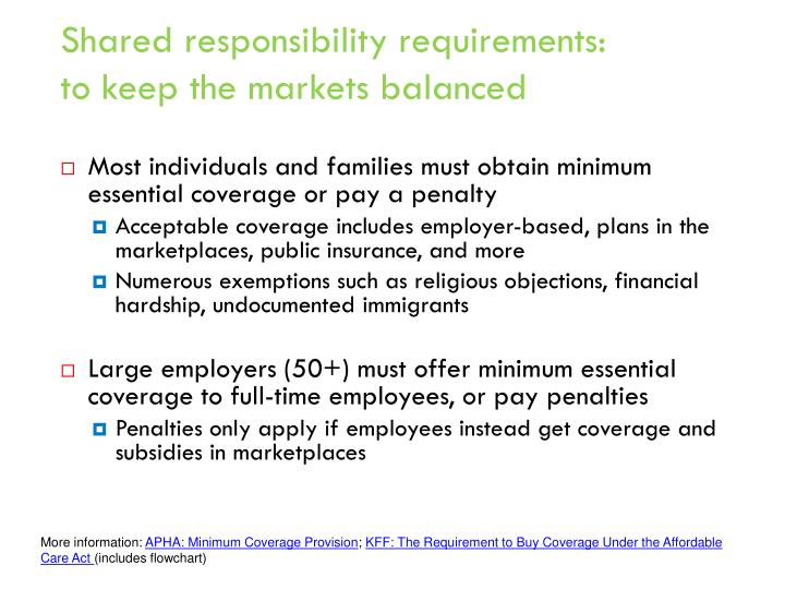 Ppt an overview of the affordable care act and what it - Minimum essential coverage plan design ...