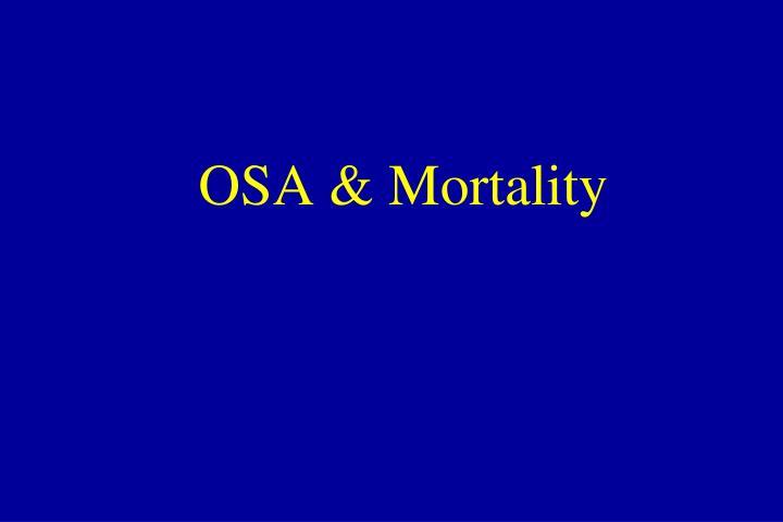 OSA & Mortality