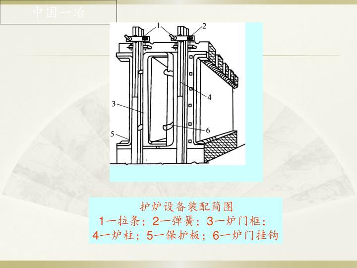 护炉设备装配简图