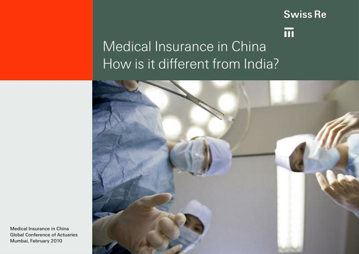 medical insurance in china how is it different from india n.