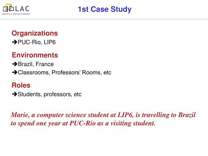 1st Case Study