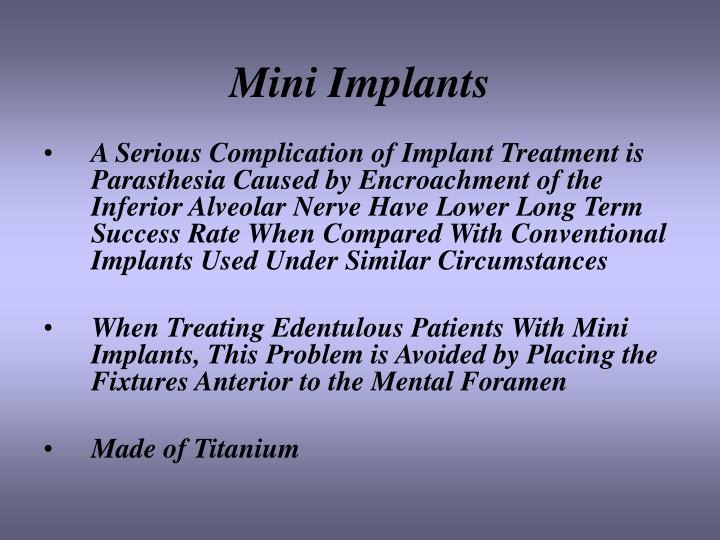 Mini Implants