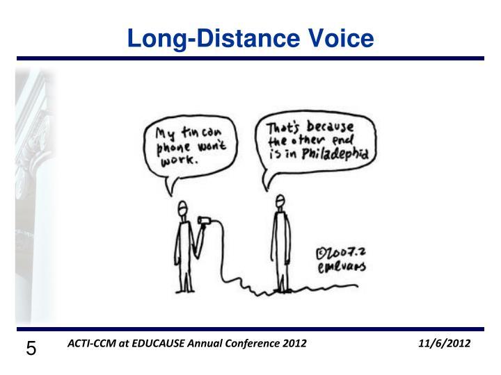 Long-Distance Voice