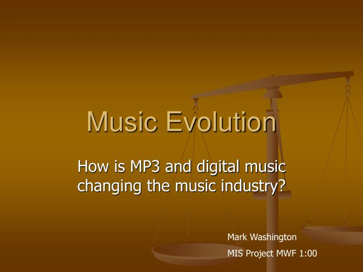 how technology changed the music industry