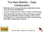 the new mobility data collaboration1