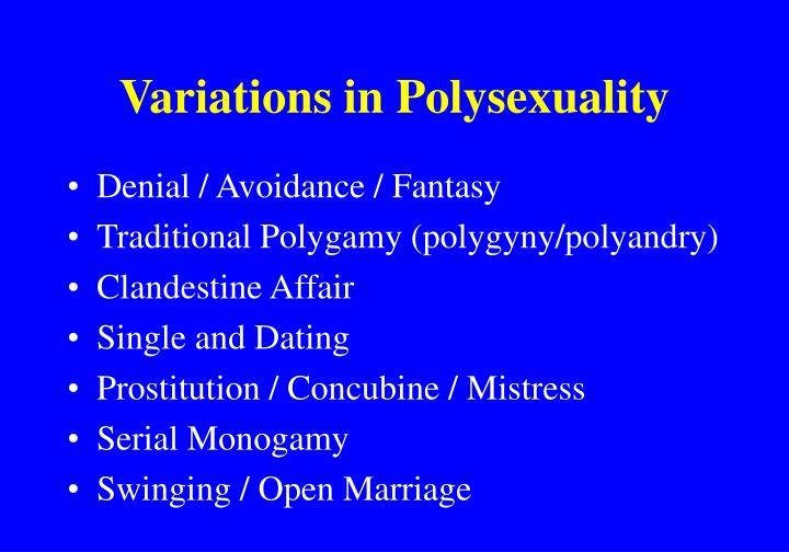 Polygyny dating