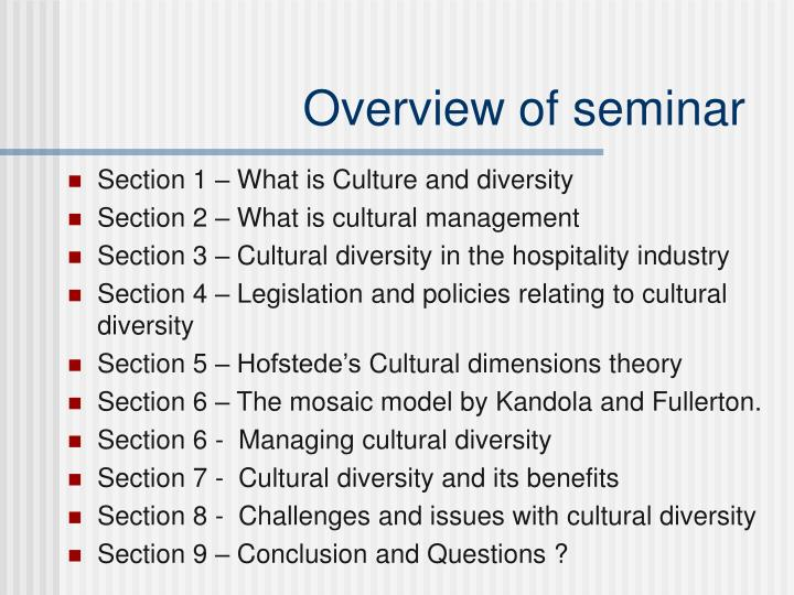 conclusion on cultural diversity