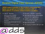 aviation digital data service adds