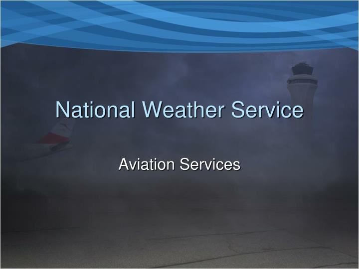 national weather service n.