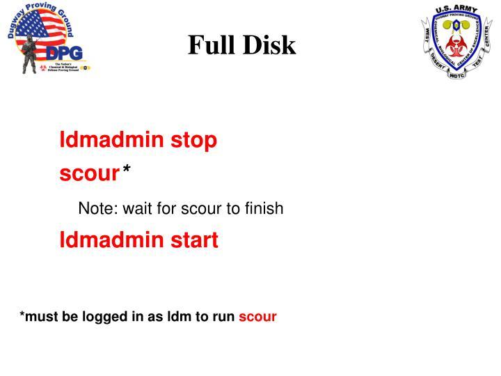 Full Disk