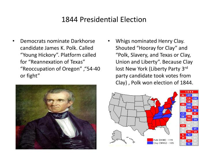 1844 Presidential Election