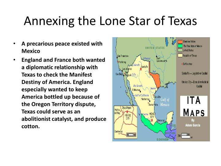 Annexing the Lone Star of Texas