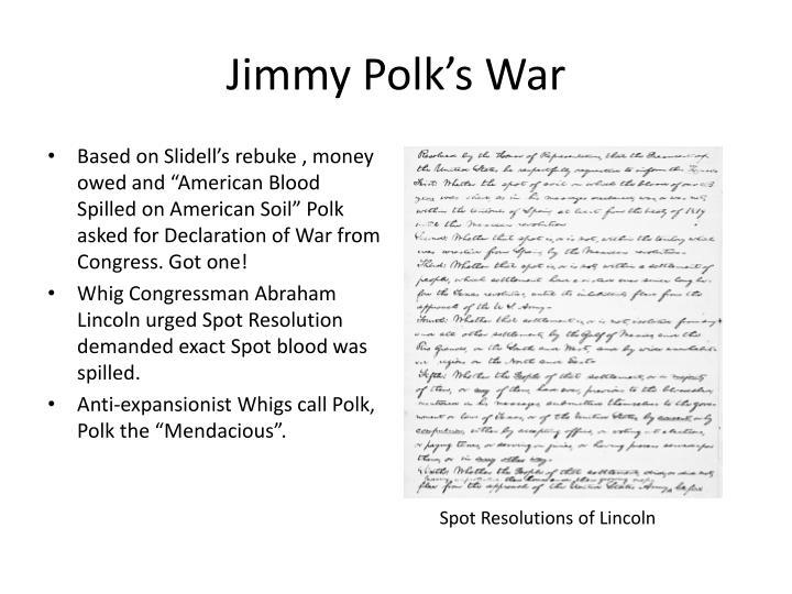 Jimmy Polk's War