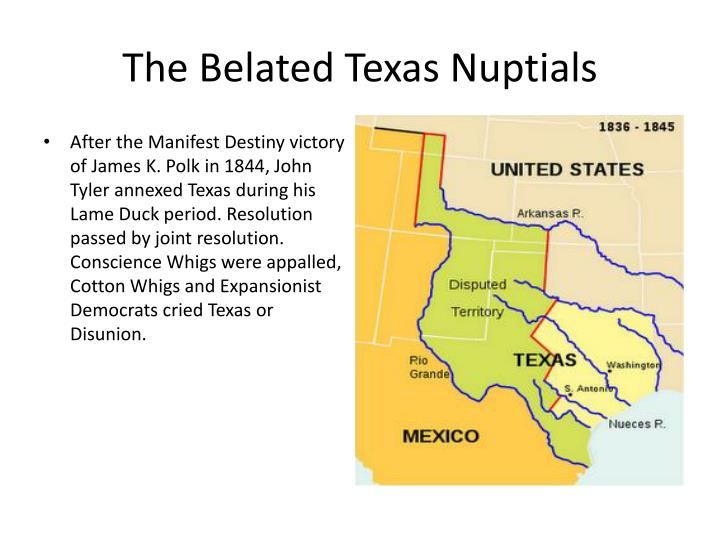 The Belated Texas Nuptials