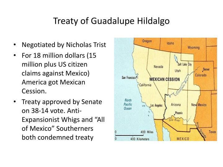 Treaty of Guadalupe Hildalgo