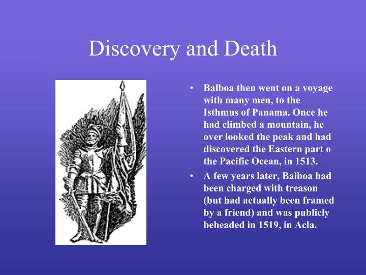 Discovery and Death