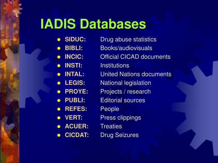 IADIS Databases