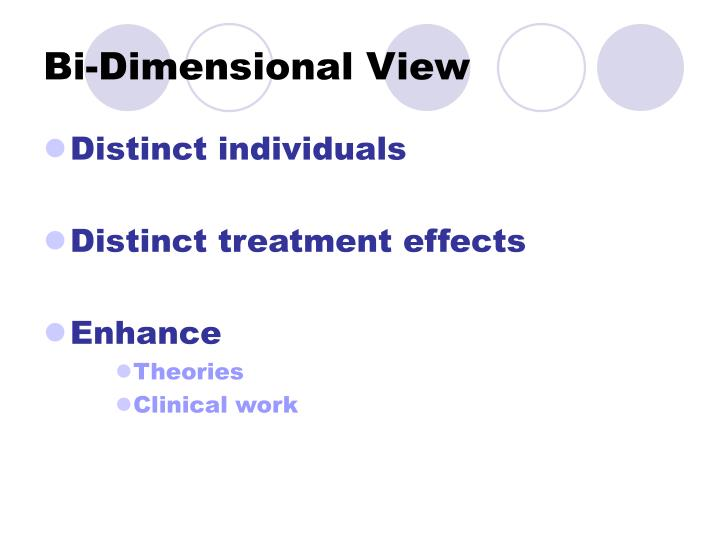 Bi-Dimensional View