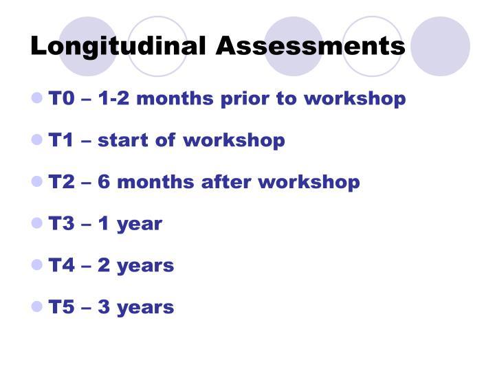Longitudinal Assessments