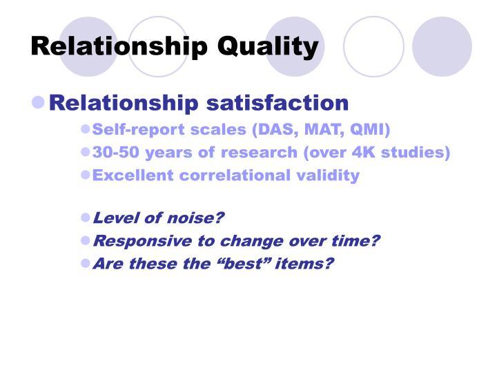 Relationship Quality