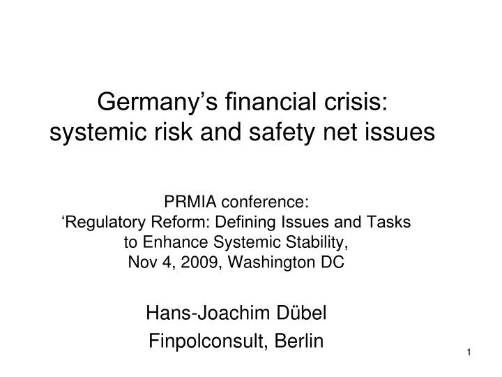 the financial crisis of 2007 2009 the road to systemic risk pdf Lessons from the financial crisis: bank performance and global financial crisis of 2007 as the global financial system entered the recent financial crisis.