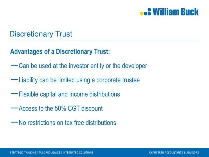 Discretionary Trust