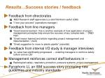 results success stories feedback1