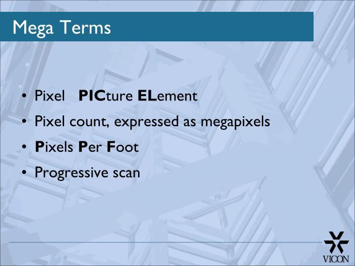 Mega terms