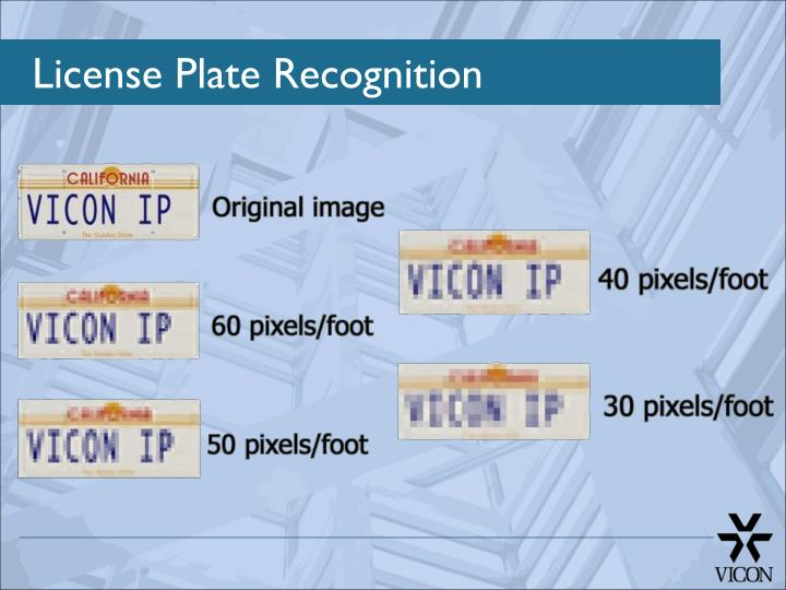 License Plate Recognition