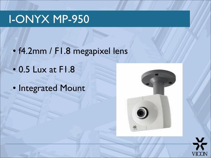 I-ONYX MP-950