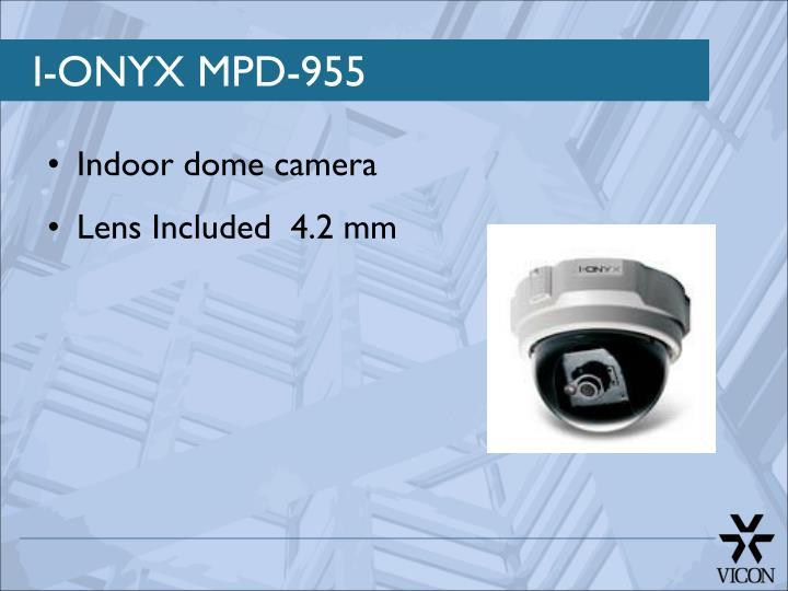 Indoor dome camera