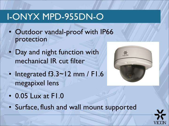I-ONYX MPD-955DN-O