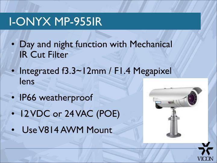I-ONYX MP-955IR