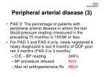 peripheral arterial disease 3