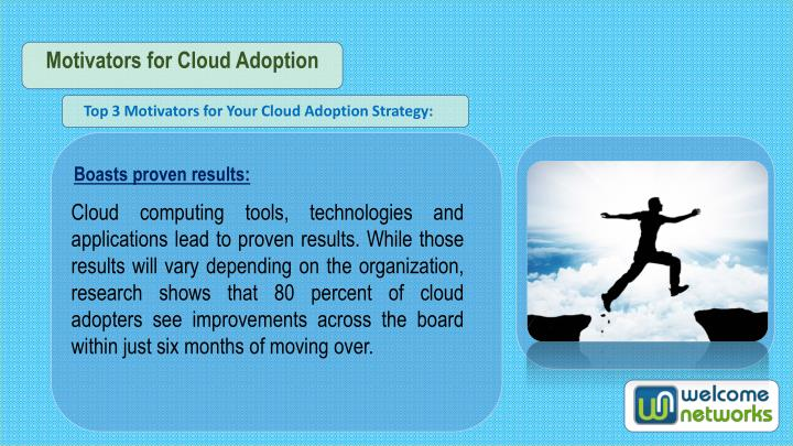Motivators for Cloud Adoption