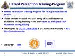 hazard perception training program
