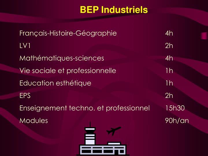 BEP Industriels